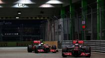 McLaren GP Singapur 2012