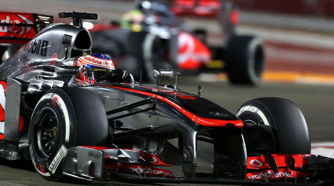 McLaren - GP Singapur 2013