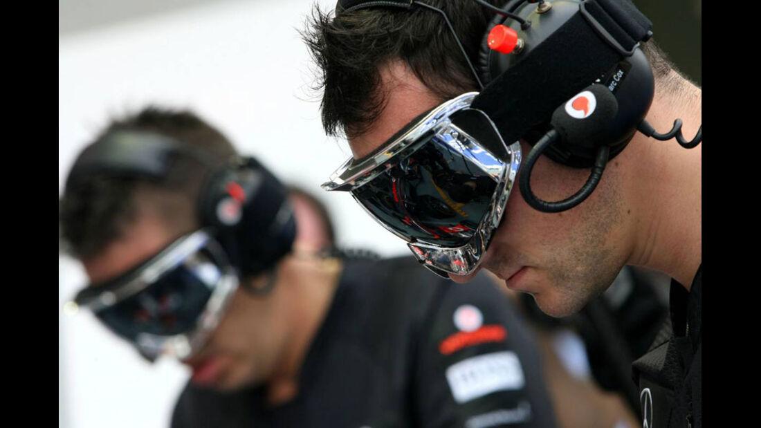 McLaren - GP Singapur - 23. September 2011