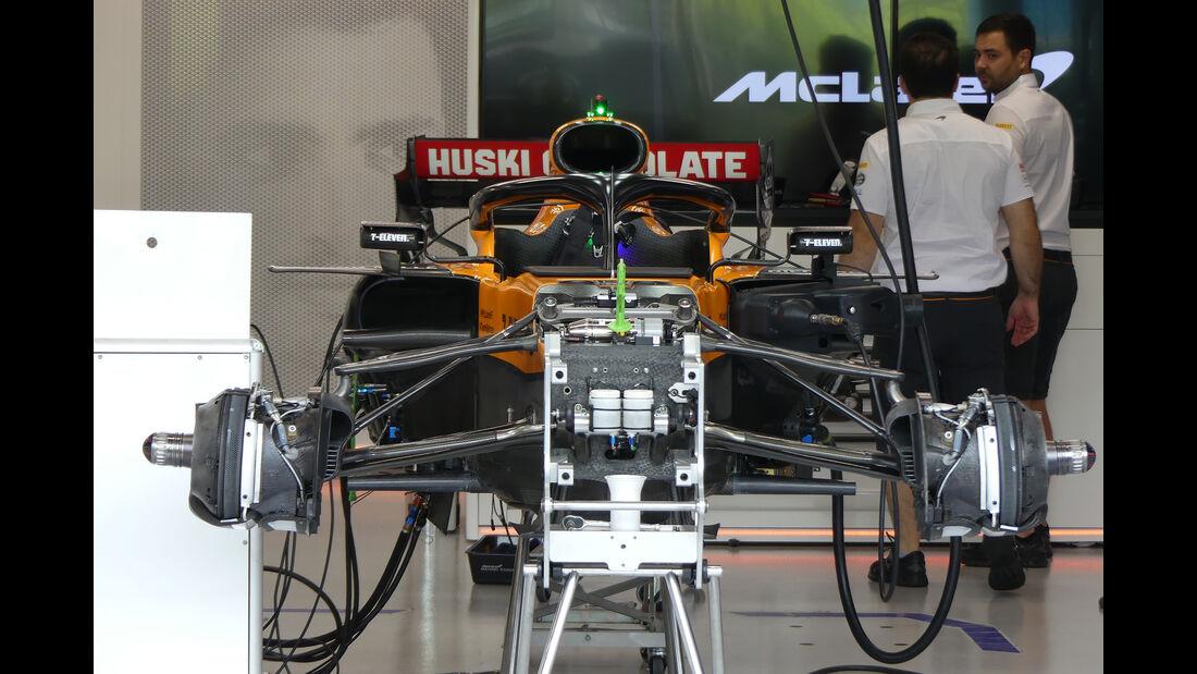 McLaren - GP Singapur - Formel 1 - Donnerstag - 19.9.2019