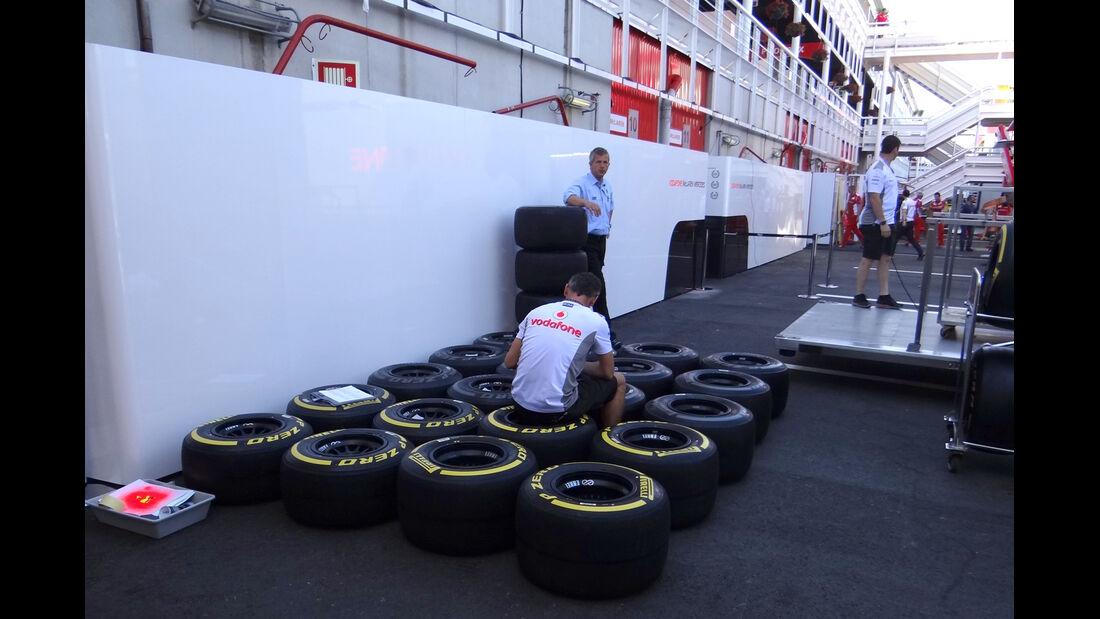 McLaren - GP Spanien - 10. Mai 2012