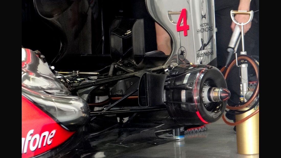 McLaren - GP Spanien - 12. Mai 2012