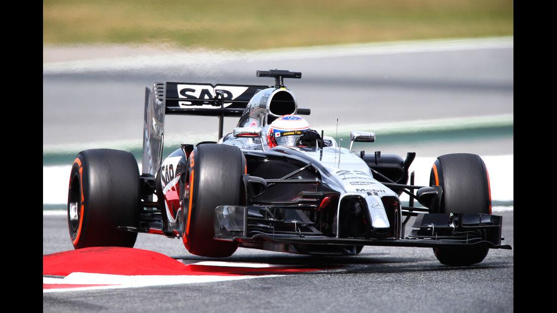 McLaren - GP Spanien 2014