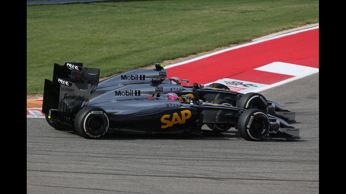 McLaren - GP USA 2014