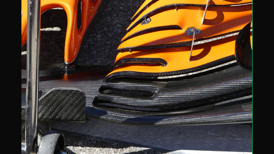 McLaren - GP USA 2017 - Technik-Updates