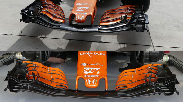McLaren - GP USA 2017 - Technik-Updates