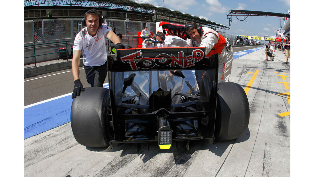 McLaren GP Ungarn 2012