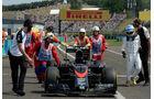 McLaren - GP Ungarn 2015