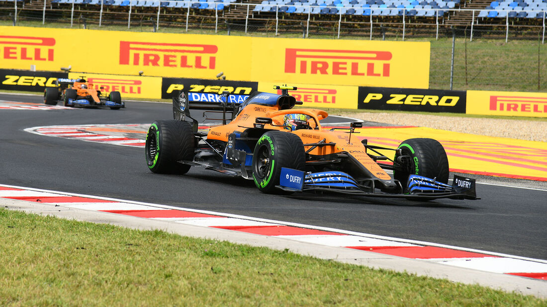 McLaren - GP Ungarn 2020