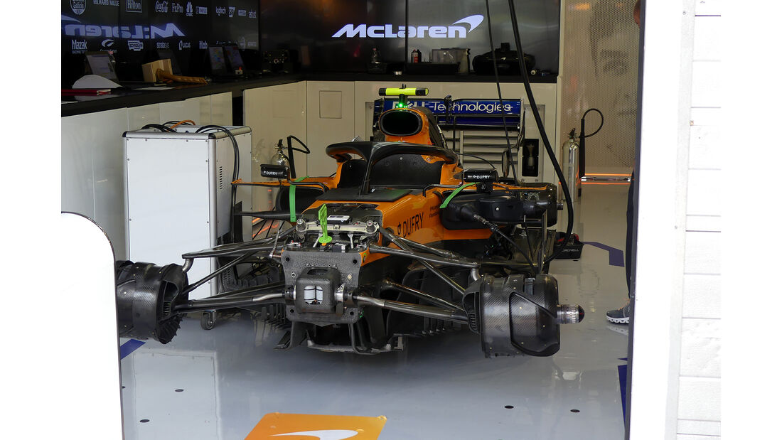 McLaren - GP Ungarn - Budapest - Formel 1 - Freitag - 2.8.2019