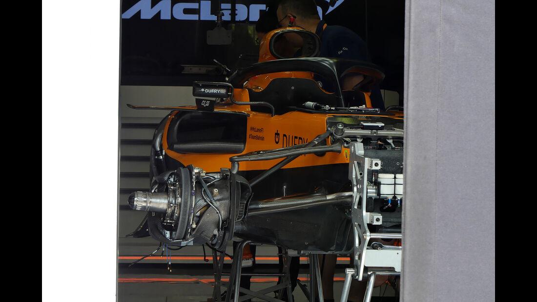 McLaren - GP Ungarn - Budapest - Hungaroring - Mittwoch - 31.07.2019