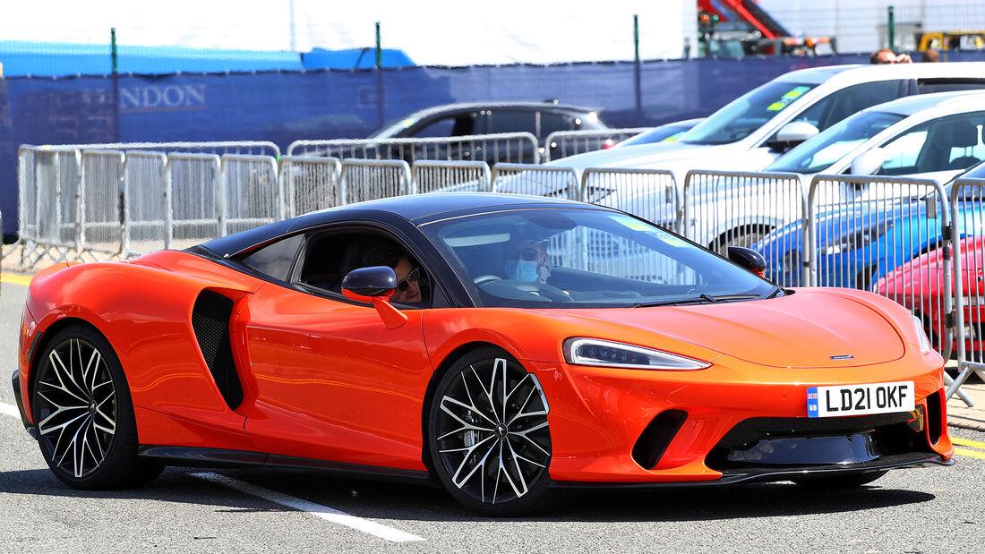 McLaren GT - Lando Norris - Formel 1 - Fahrerautos - GP England 2021