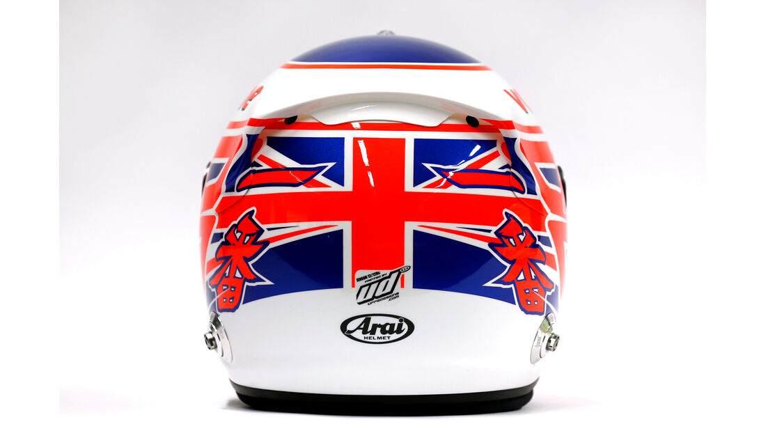 McLaren Helm Jenson Button F1 2013