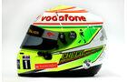 McLaren Helm Sergio Perez F1 2013