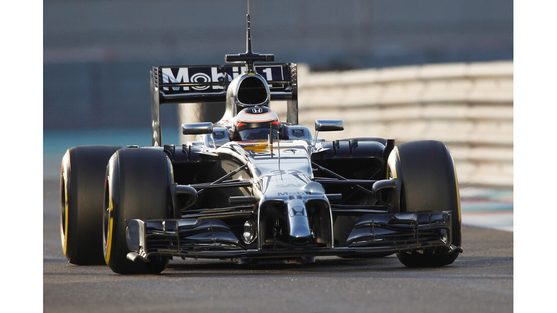McLaren-Honda - Abu Dhabi Test 2014 - Formel 1 - Tops & Flops