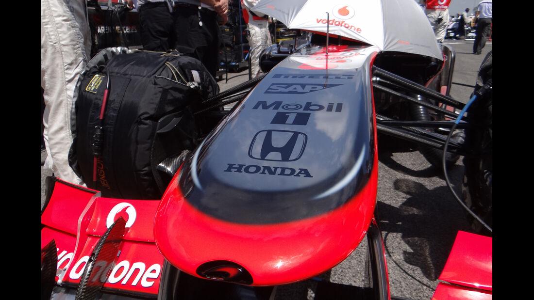 McLaren Honda Collage 2013