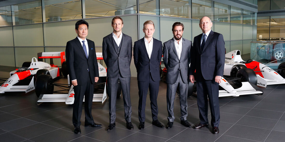 McLaren-Honda, Formel 1, Alonso, Dennis, Button, Magnussen, Yasuhisa Arai