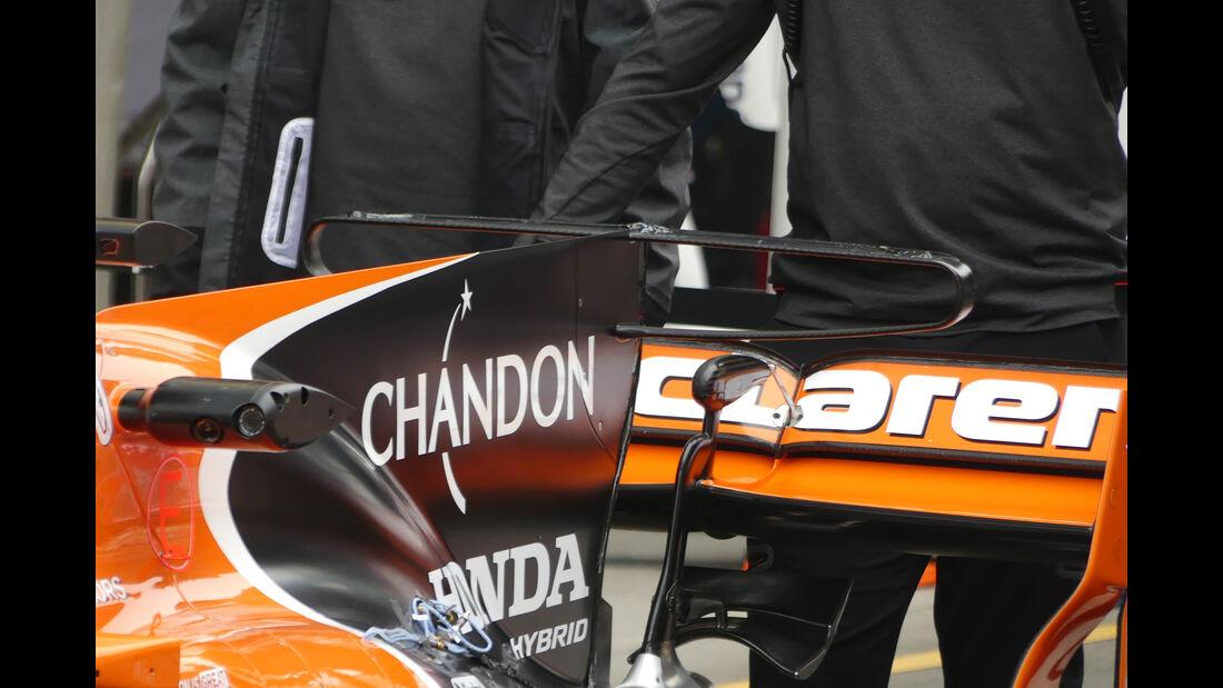 McLaren-Honda - Formel 1 - GP China 2017 - Shanghai - 7.4.2017