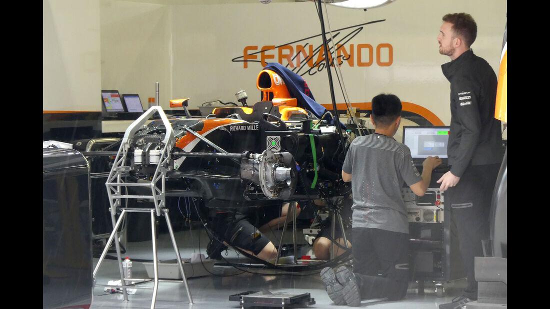 McLaren-Honda - Formel 1 - GP China - Shanghai - 6.4.2017