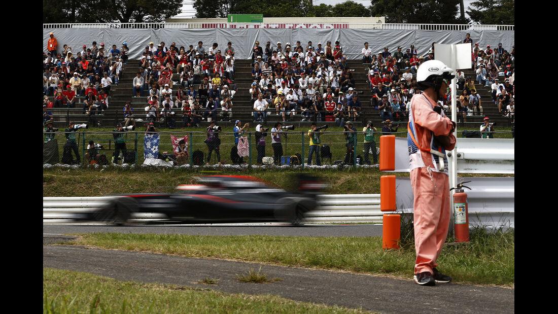 McLaren-Honda - Formel 1 - GP Japan - Suzuka - 26. September 2015