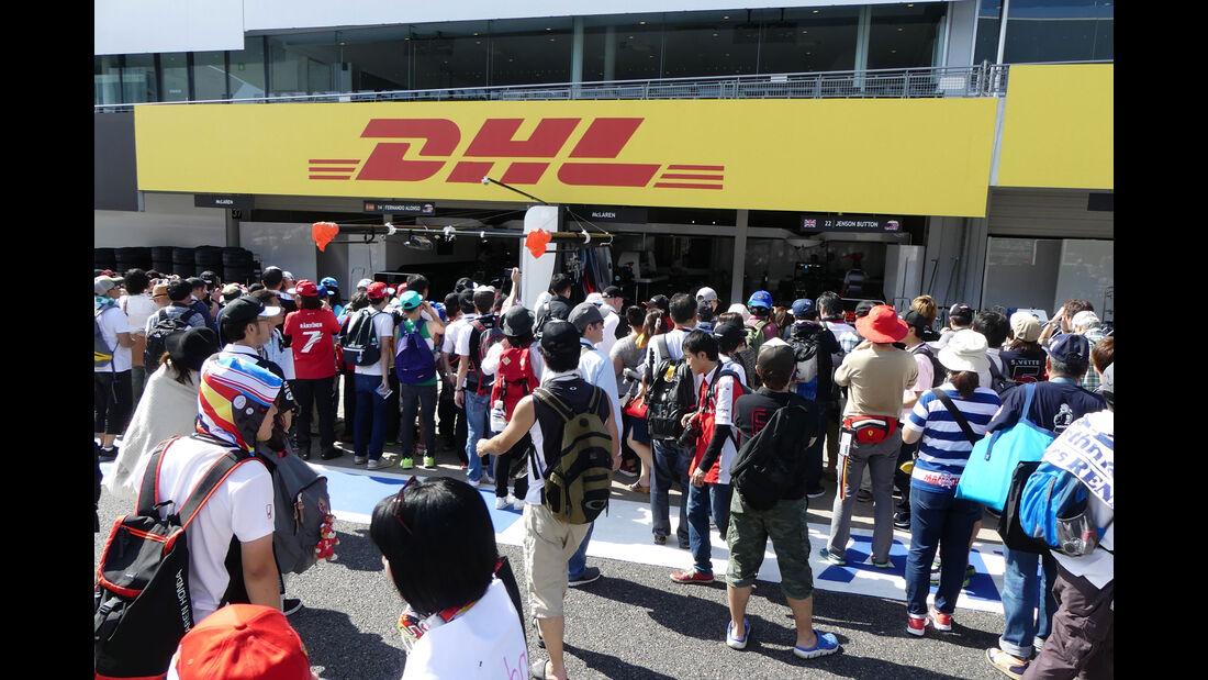 McLaren-Honda - Formel 1 - GP Japan - Suzuka - Donnerstag - 6.10.2016
