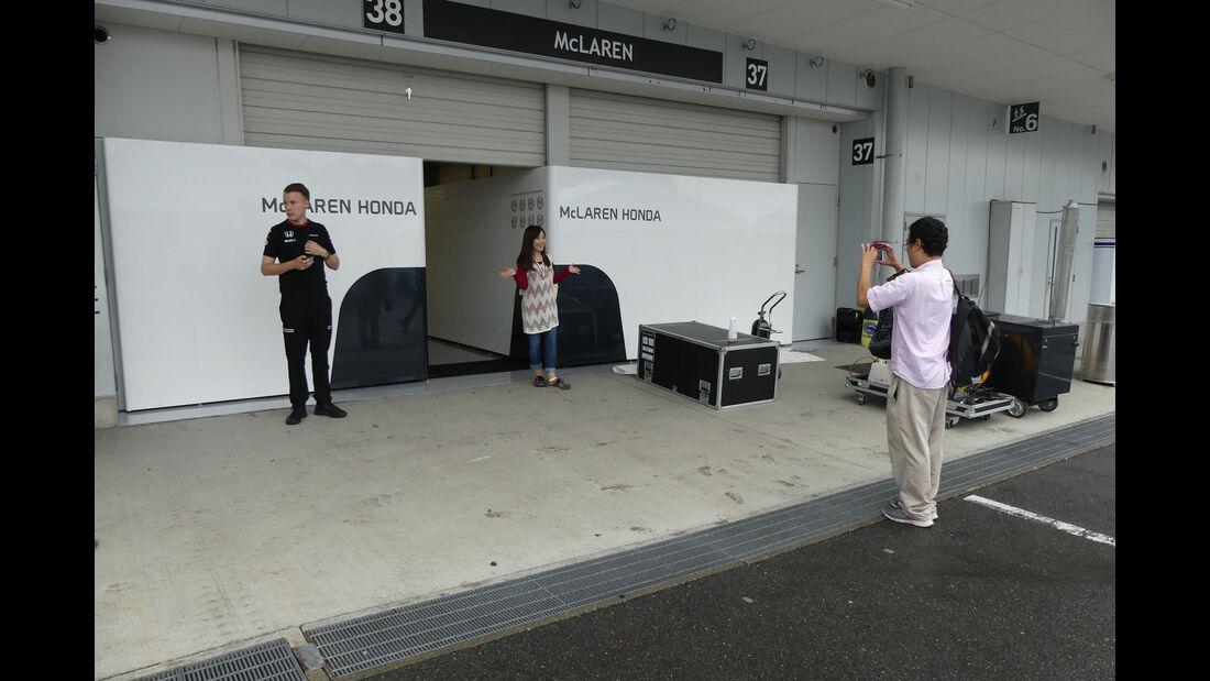 McLaren-Honda - Formel 1 - GP Japan - Suzuka - Mittwoch - 5.10.2016