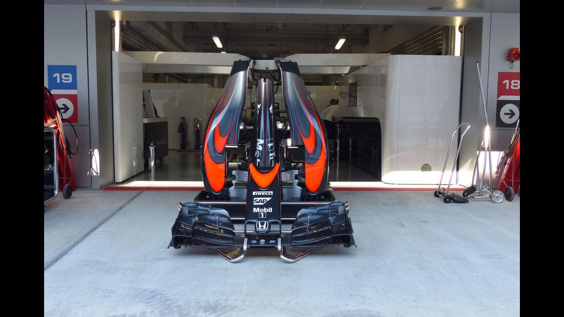 McLaren-Honda - Formel 1 - GP Russland - Sochi - Donnerstag - 8.10.2015