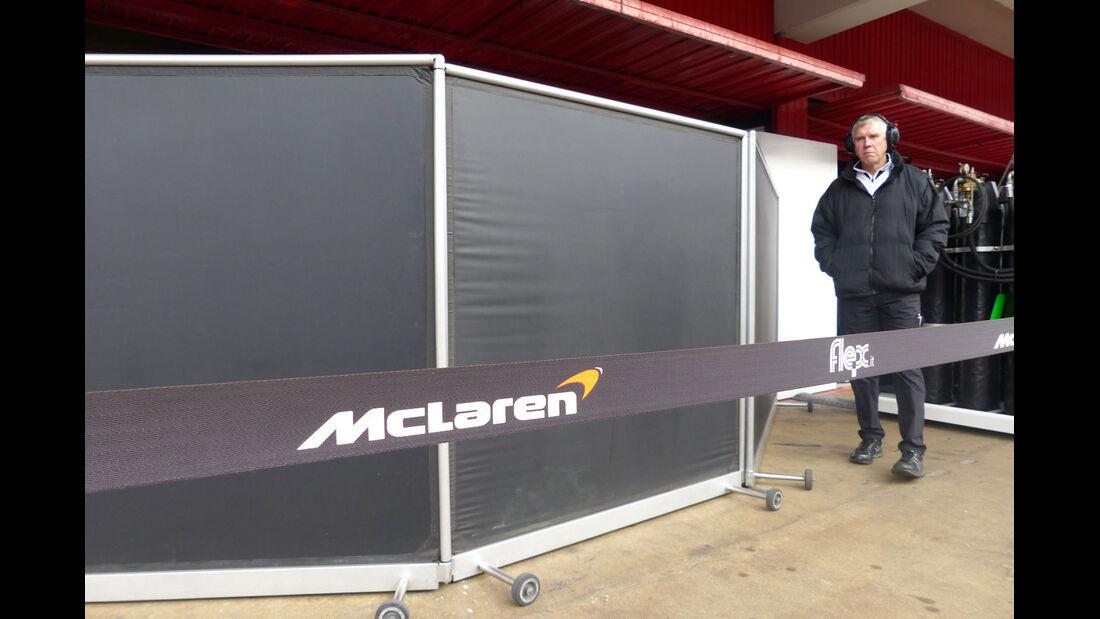 McLaren-Honda - Formel 1-Test - Barcelona - 1. März 2015