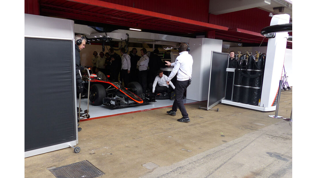 McLaren-Honda - Formel 1-Test - Barcelona - 27. Februar 2015