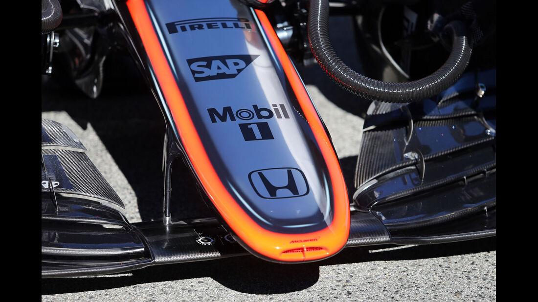 McLaren-Honda - Formel 1-Test - Barcelona - 28. Februar 2015