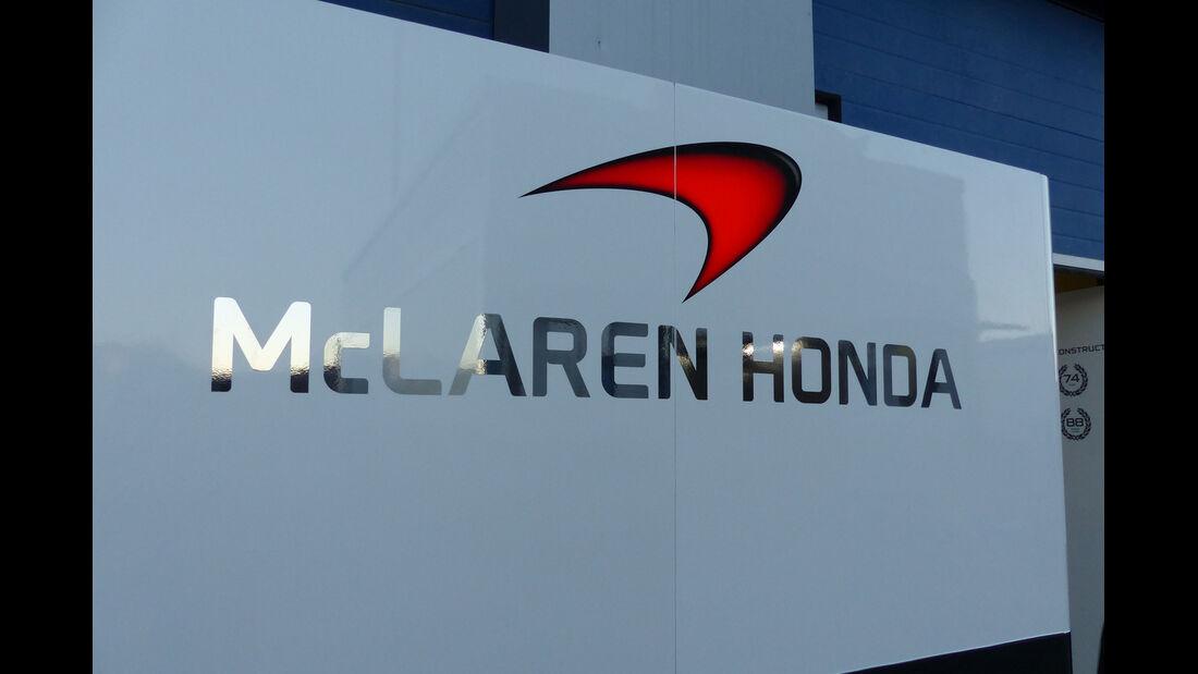 McLaren-Honda - Formel 1-Test Jerez - 1. Januar 2015