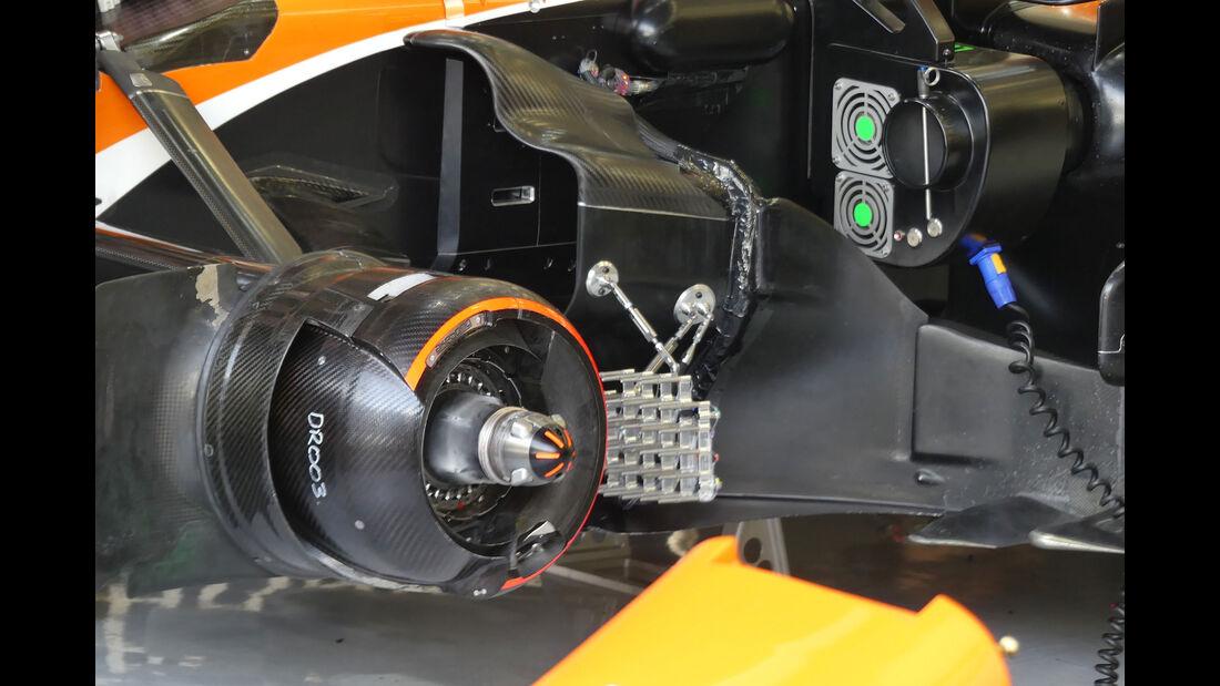 McLaren-Honda - Formel 1 - Testfahrten - Bahrain International Circuit - Dienstag - 18.4.2017