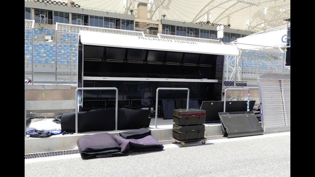 McLaren-Honda - GP Bahrain - Sakhir - Mittwoch - 12.04.2017