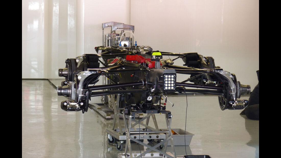 McLaren-Honda - GP Barcelona - Formel 1 - Mittwoch - 6.5.2015