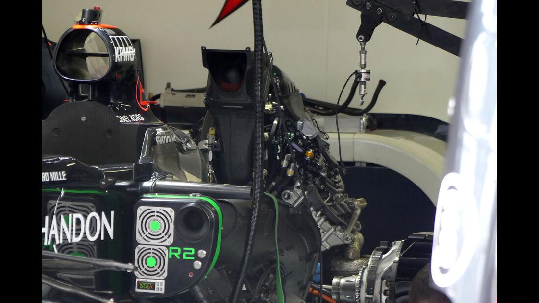 McLaren-Honda - GP Brasilien 2016 - Sao Paulo - Interlagos - Mittwoch - 9.11.2016