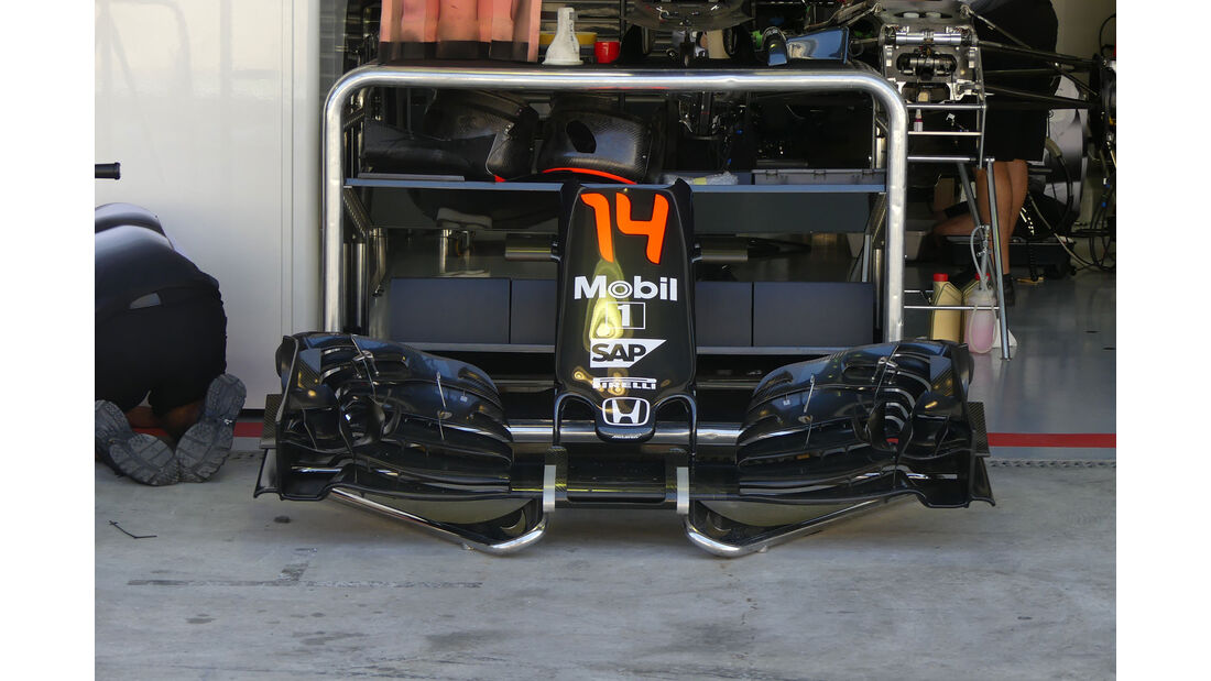 McLaren-Honda - GP Brasilien - Sao Paulo - Interlagos - Donnerstag - 10.11.2016