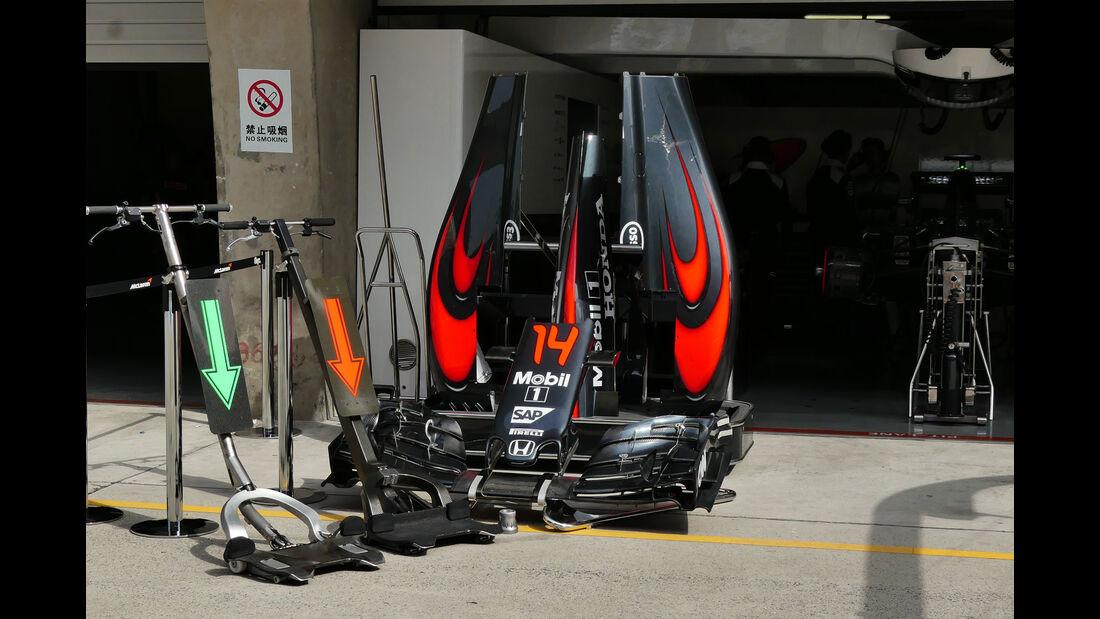 McLaren-Honda - GP China - Shanghai - Freitag - 15.4.2016