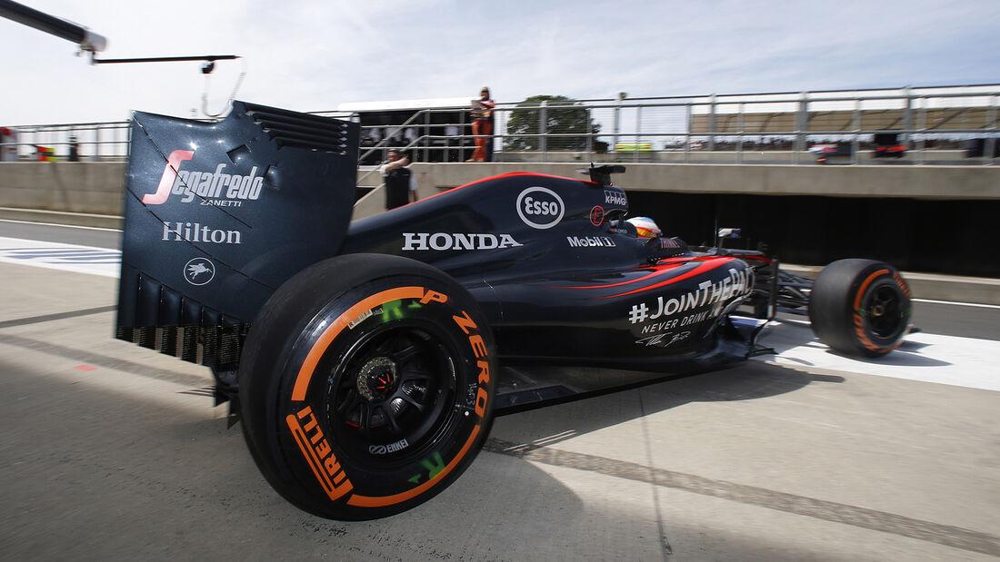 McLaren-Honda - GP England 2015