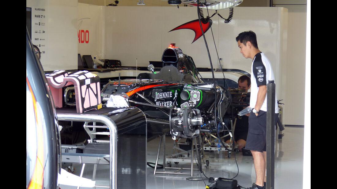 McLaren-Honda - GP England - Silverstone - Donnerstag - 2.7.2015
