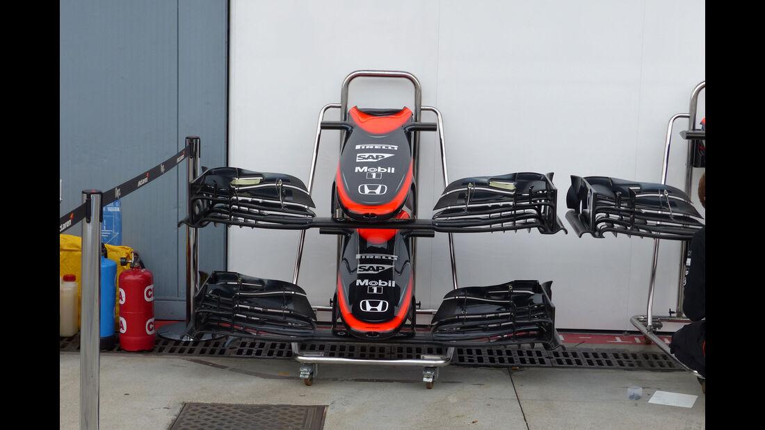 McLaren-Honda - GP Italien - Monza - Freitag - 4.9.2015