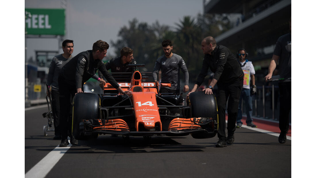 McLaren-Honda - GP Mexiko - Formel 1 - Donnerstag - 26.10.2017