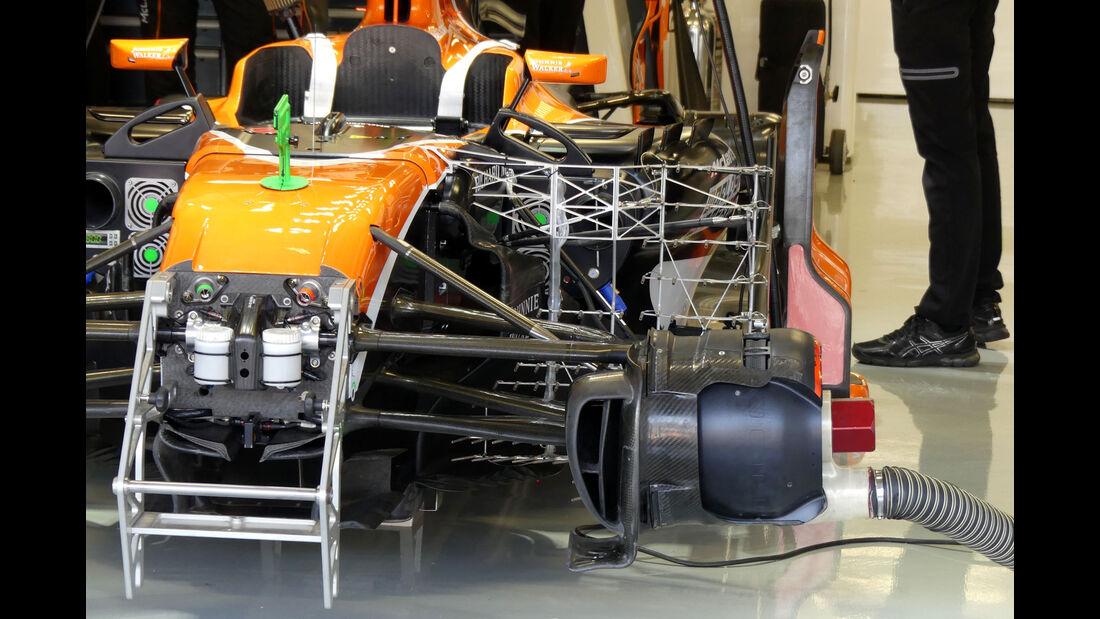 McLaren-Honda - GP Mexiko - Formel 1 - Freitag - 27.10.2017