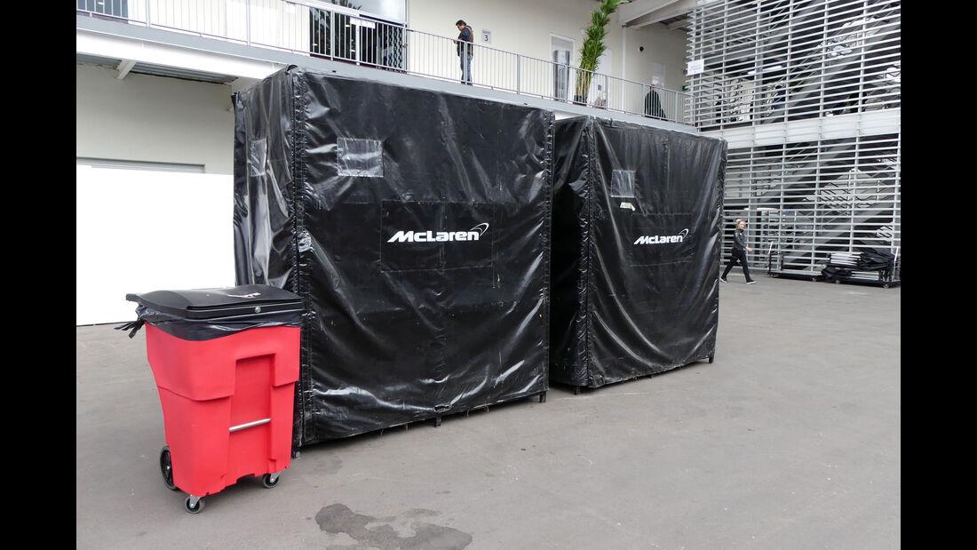 McLaren-Honda - GP Mexiko - Formel 1 - Mittwoch - 25.10.2017