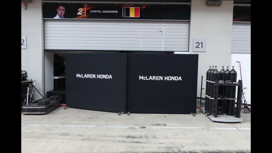 McLaren-Honda - GP Österreich 2017 - Spielberg - Formel 1 - Mittwoch - 5.7.2017