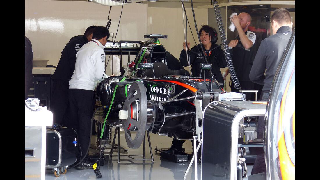 McLaren-Honda - GP Österreich - Formel 1 - Freitag - 19.6.2015