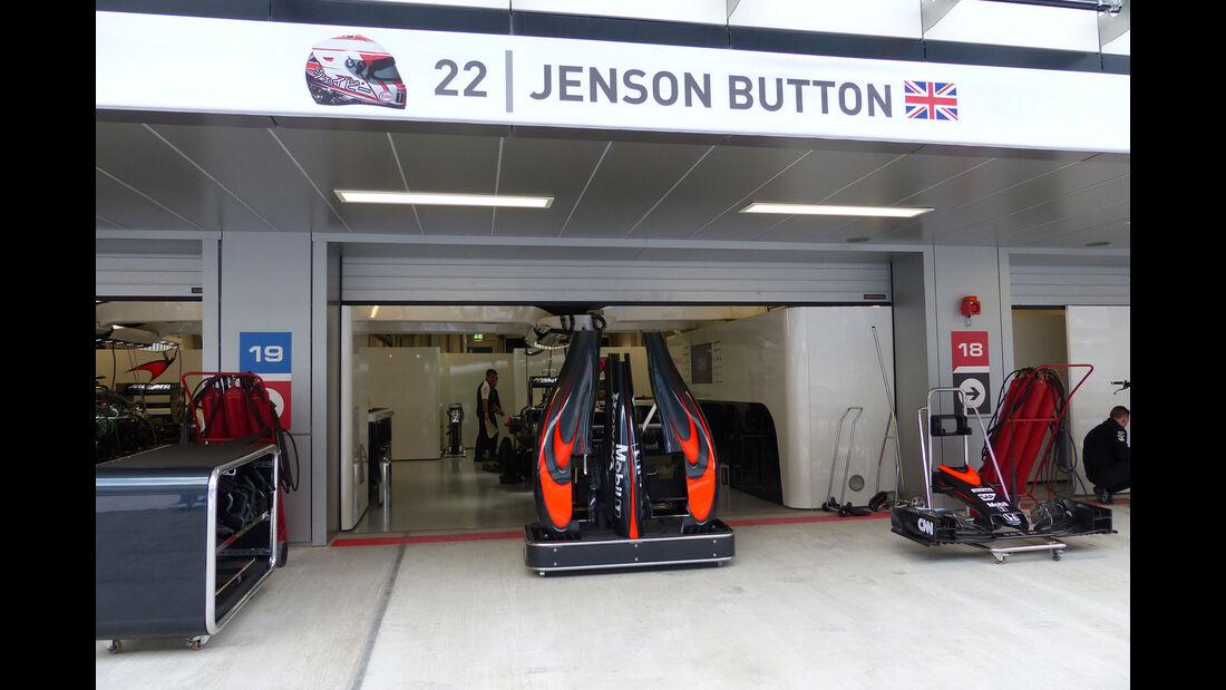 McLaren-Honda - GP Russland - Sochi - Freitag - 9.10.2015