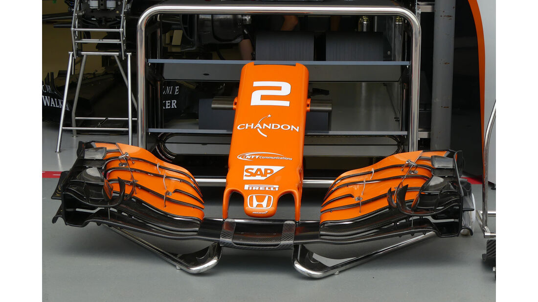 McLaren-Honda - GP Singapur - Formel 1 - Donnerstag - 14.9.2017