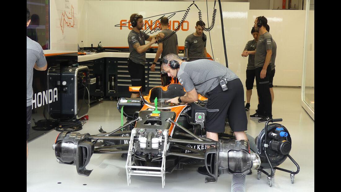 McLaren-Honda - GP Singapur - Formel 1 - Freitag - 15.9.2017