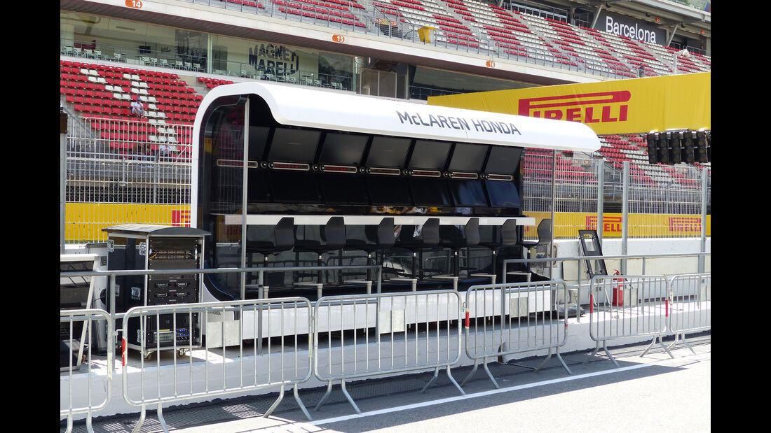 McLaren-Honda - GP Spanien - Barcelona - Donnerstag - 7.5.2015