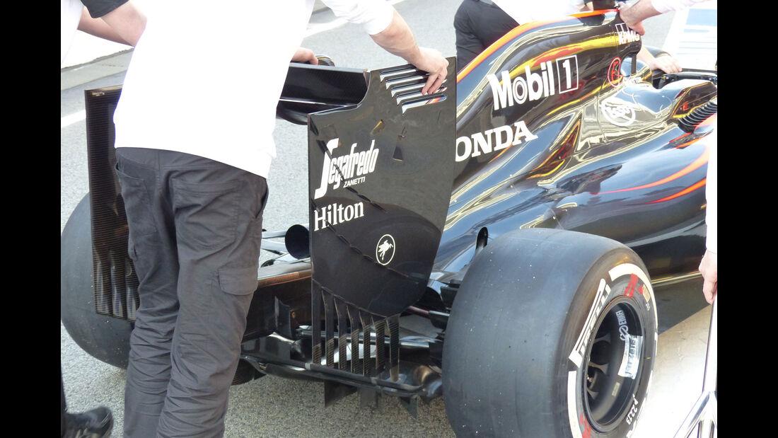McLaren Honda - GP Spanien - Samstag - 9.5.2015
